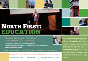 North First Education Flyer