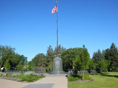 Victory Memorial Flag Pole