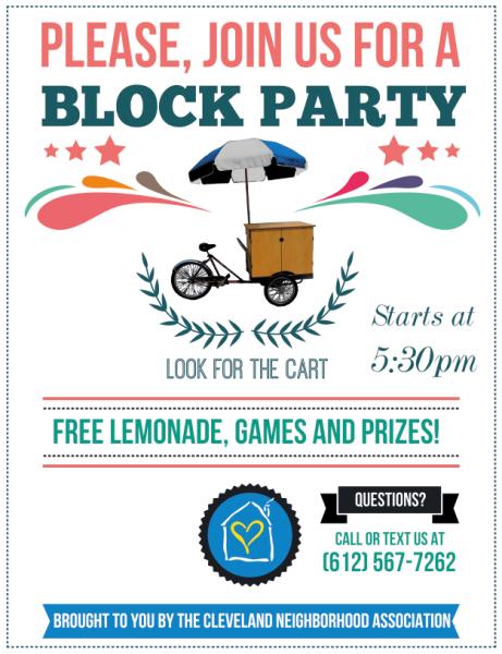 Block Party Flyer Universal
